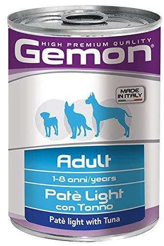 Gemon Cane Pate Light Tonno Gr 400