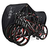 Aiskaer Bicycle Cover with Lock Hole Reflective Safety Loops for 29er Mountain...