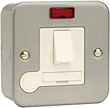 MC 13A Fused SPUR Switched NEON F/Outlet Product Range Click Metal Clad Units Current Rating 13A Ext