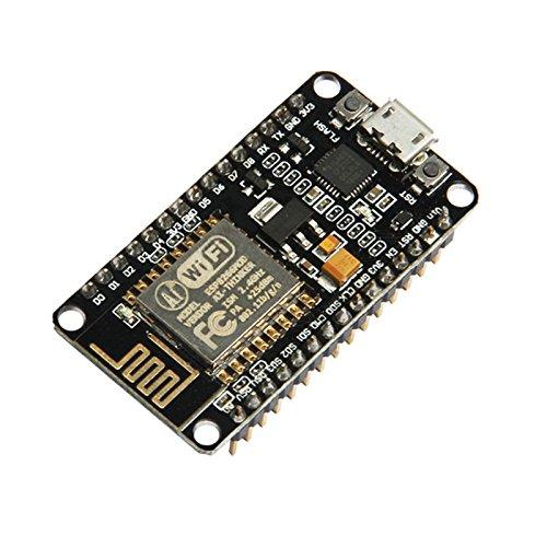 wildlead Module de carte de développement NodeMcu Lua ESP8266 ESP-12E CP2102 WIFI