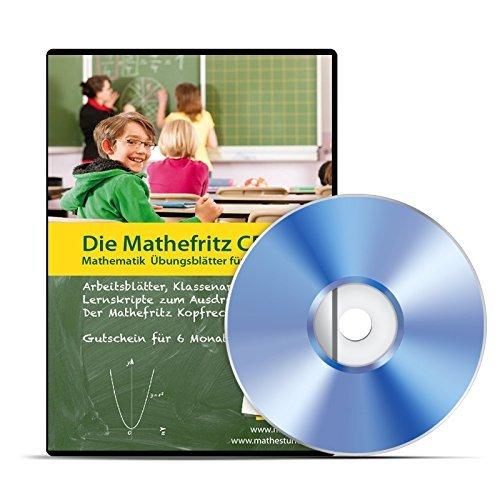 Die Mathefritz CD für Gymnasien, Gesamtschulen, Realschulen für die Klassen 5-10 (PC+MAC+Linux)