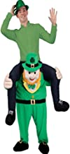 Halloween Carry Ride On Me Riding Shoulder Adult Leprechaun Mascot Costume Ride On Costume