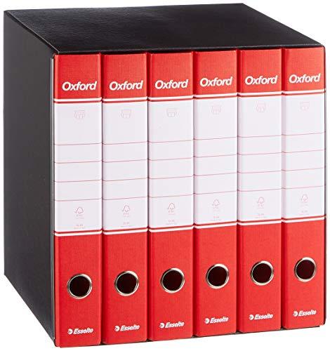 ESSELTE G88 OXFORD gruppo registratori 6 / G84 - Rosso - 390788160
