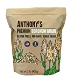 Anthony's Premium Sorghum, 2 Pound, Whole Grain, Gluten Free, Non GMO, Made in USA