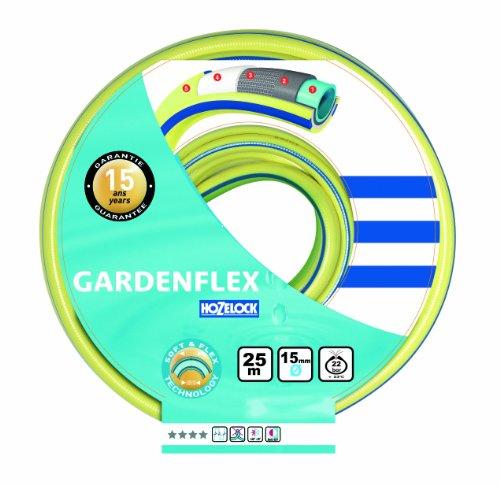 Hozelock 132958 Gardenflex Tuyau Jaune/bleu 50 m ø 25 mm