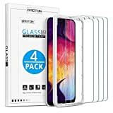 OMOTON [4 Pack] Samsung Galaxy A50 A30 Screen Protector, Tempered...