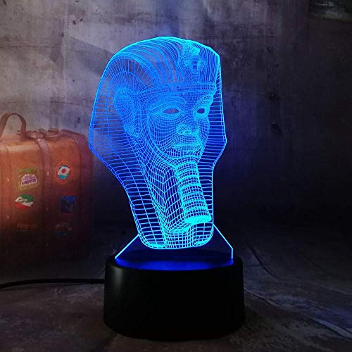 Stimmung Lichter historische Figur 3D Nachtlicht Touch Remote Licht abstrakte Acryl Lamparas Kinder Weihnachten Geburtstagsgeschenk Baby Schlaftisch Dekoration