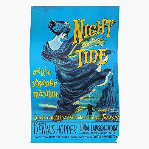 Mermaid Horror Cult Movie Dennis Cinema Macabre Hopper Film Home Decor Wall Art Print Poster !