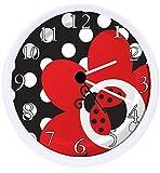RUSCH Ladybug Wall Clock