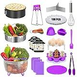 124 PCS Accessories for Instant Pot,Pressure Cooker Accessories Set fit Instant Pot5,6,8...