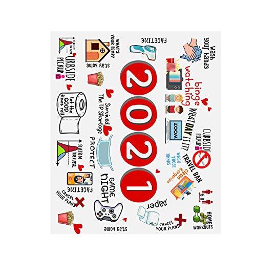 JVSISM 96X114Cm 2020 una 2021 Elementos Manta Manta de EdredóN Conmemorativo Textiles para el Hogar Cama Suave Sofá Manta de Primavera