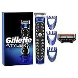 Gillette Styler 4in1 Recortadora Barba Hombe, Perfiladora de