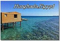 BEI YU MAN.co エジプトグラデーションハルガダジグソーパズル大人のための子供1000ピース木製パズルゲームギフト用家の装飾特別な旅行のお土産