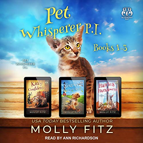 Pet Whisperer P.I. Books 1-3 cover art