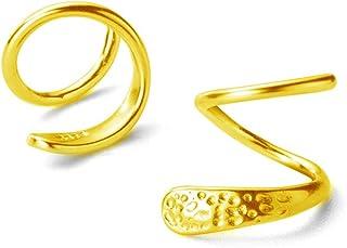 Fashion Minimalist Ear Cuff Climber Hoop Earrings Sterling Silver for Women Girls Cartilage Twist Crawler Wrap Huggie Earring Ear Piercing Hypoallergenic Sensitive Ears