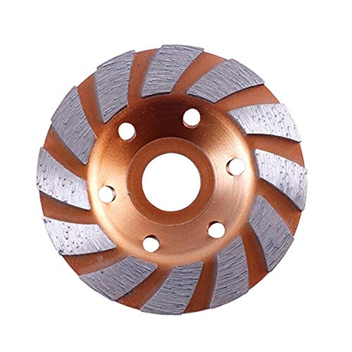 Review Of Multitool Sanding Kits 100mm Diamond Segment Grinding Cup Wheel Disc Grinder Granite Stone...
