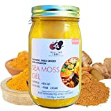 Sea Moss Gel (16 oz) with Raw Gold Seamoss, Turmeric, Dried Ginger and Cinnamon with All Natural Essential Vitamins, Minerals Plus Antioxidants Wild Harvested from Jamaica