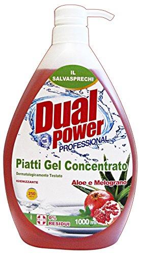 DUAL POWER PIATTI CONC.1 LT.ALOE-MELOGRANO
