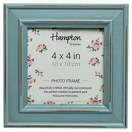 Hampton Frames Paloma Bilderrahmen, Holz, Hellblau, 14,5x 14,5x 2,5cm