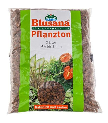 Leni Blusana P 6523 - Sustrato para Cultivo hidropónico (Grano 4/8, 2 L, 4-8 mm)