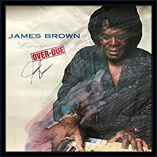 James Brown Poster Autograph with Certificate of Authenticity