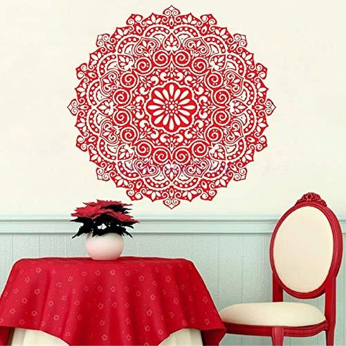 ASFGA Harmony Mandala Wohnzimmer Aufkleber Erstellen Sie böhmische Wand Vinyl Aufkleber Great...