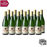 Saint-Véran Blanc 2017 - Domaine J.A. Ferret - Vin AOC Blanc de Bourgogne - Cépage Chardonnay - Lot de 12x75cl