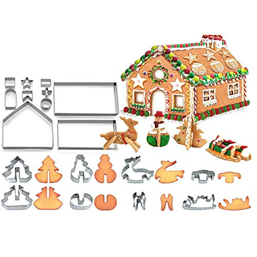 BOENTA Moules Patisserie Kit De Patisserie des Trucs de Cuisson Gâteau Équipement De Fabrication Gâteau Matériel De Cuisson Cuisine Ustensile Ensemble