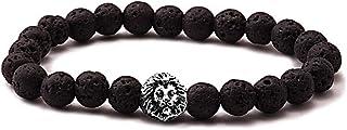 atiq Beaded Bracelet for Men, Mixed, LN-Silver011