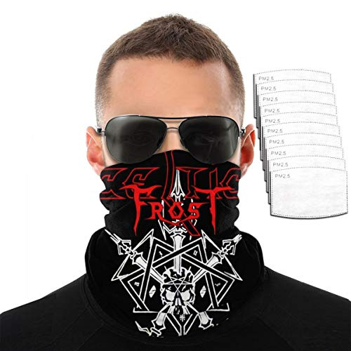 BETHANYJONES Bandanas For Fishing Neck Gaiter Scarf Balaclava With Filters Celtic Frost