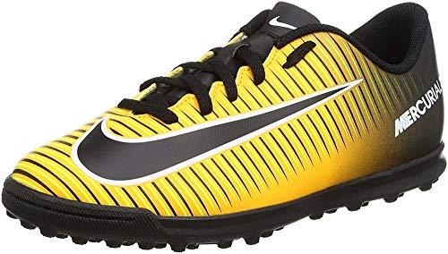 Nike Mercurialx Vortex III TF, Scarpe da Calcio Unisex – Bambini, Arancione (Laser Orange/Black/White/Volt), 38 EU