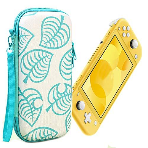 Ztowoto Estuche de Transporte Compatible con Nintendo Switch Lite, la última Funda Protectora portátil endurecida con diseño de Hoja para Nintendo Switch Lite (Nintendo Switch Lite-Green)