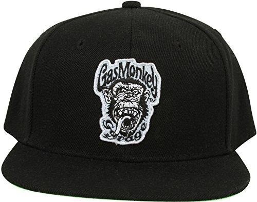 Gas Monkey Garage Cap Green Monkey, Farbe:black, Größe:one size