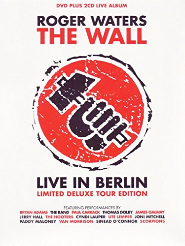 Roger Waters - The Wall: Live in Berlin (+ 2 Audio-Discs) [Limited Deluxe Edition]