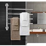 Toallero eléctrico toallero barra de toalla de acero inoxidable termostato...