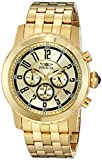 Invicta Men's 19465 Specialty 18k Gold Ion-Plated Watch