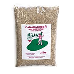 Resilient, crowds out weeds, resists bugs Grass starts growing in days and stays green Canada Green grass seed quickly produces a lush lawn Proven on golf courses. Resilient, crowds out weeds, resists bugs Fall is the perfect season to seed lawn. Gra...