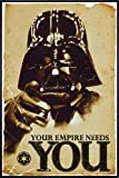 Star Wars Poster Darth Vader Your Empire Needs You (93x62