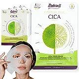 Mascarilla facial hidratante Reparadora Antiarrugas con Centella Asiática y Ácido Hialurónico de Ardaraz