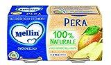 Mellin Omogeneizzato Pera - 12 vasetti da 100 gr