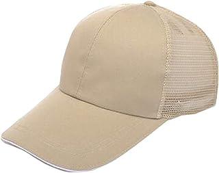 Flyme Casual Baseball Cap Back Mesh Hat Cap Snapback Trucker Cap Headwear (Black)