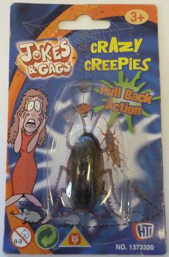 Creepies Fous Retiennent l'Action - l'Insecte (HL190) l'INSECTE [le Jouet]