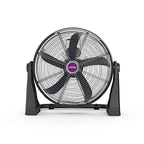 Vortex CFV-M020 Circulator, Ventilador de Uso rudo de Piso y Pared, Color, Pack of/Paquete de 1