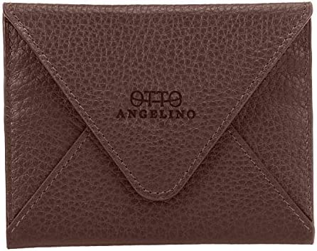 Otto Angelino Genuine Leather Wallet - Multiple Slots Money, ID, Cards, Smartphone, RFID Blocking - Unisex