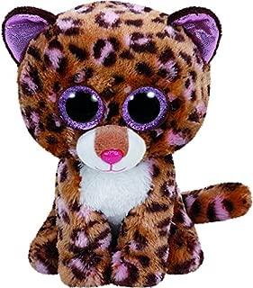 Ty Patches Leopard Plush, Tan, Medium