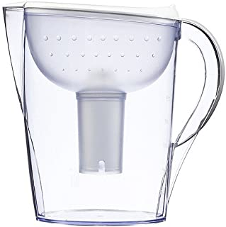 Brita Pacifica 10 Cup Water Filter Pitcher (White)