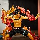 Figurine One Piece Ace Anime One Piece Pop Zero Version de Combat Ace Figurine Statue en PVC Figurine Statues Figurines Personnages Figurine Décoration Ornements 13CM