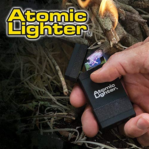 Atomic Lighter by BulbHead, The Rechargeable Electric Lighter That's Windproof, USB Chargeable (Deluxe)
