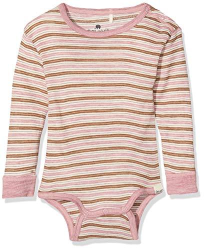 CeLaVi Body Mit Langen Ärmeln in Weicher Wolle, Rose (Dusky Orchid 6920), 52 (Taille Fabricant: 50) Mixte bébé