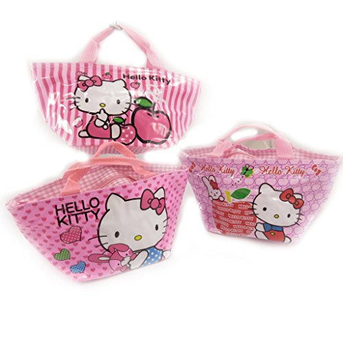 Hello Kitty [K8307-3 sacs shopping rose